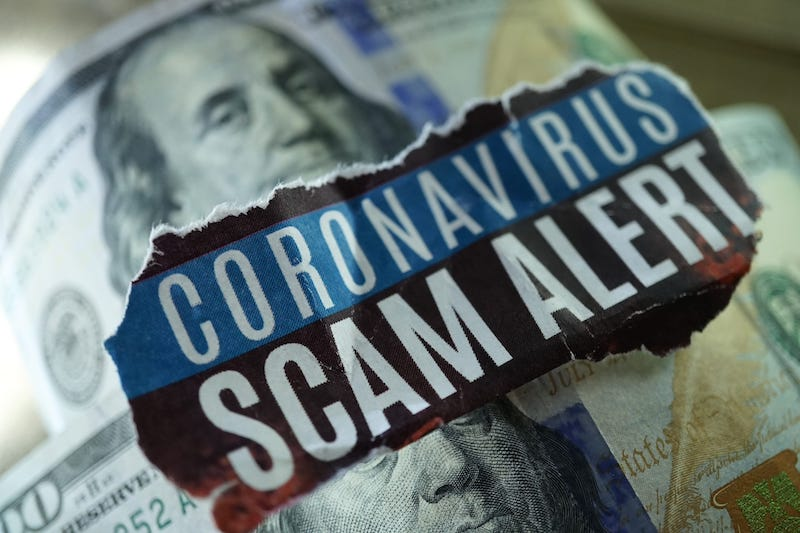 COVID-19-related scams cost Americans over $160 million